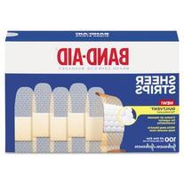 """Sheer Adhesive Bandages, 3/4"""" x 3"""", 100/Box, Sold as 1 Box"""