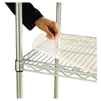 Alera Shelf Liners For Wire Shelving, Clear Plastic, 48W X