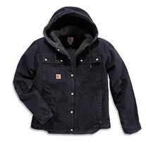 Carhartt Men's Sherpa Lined Sandstone Hooded Multi Pocket