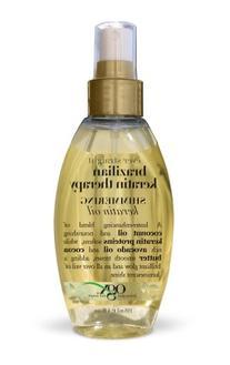 OGX Shimmering Keratin Oil, Ever Straight Brazilian Keratin
