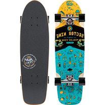 Sector 9 Shindig Complete Skateboard, Orange