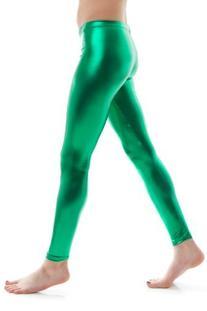 Soho Girl Women's Shiny Metallic Full Length Leggings Length