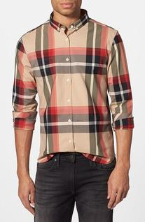 Men's 7 Diamonds 'All In One' Sport Shirt, Size XX-Large -