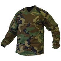 Shirt- V-TAC SIERRA Combat Shirt-WOODLAND-M