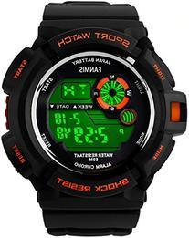 Fanmis S-Shock Multi Function Digital LED Quartz Watch Water