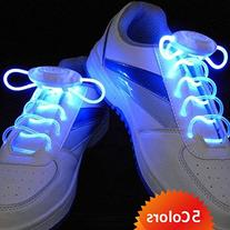 Flammi LED Shoelaces Light Up Shoe Laces with 3 Modes in 5