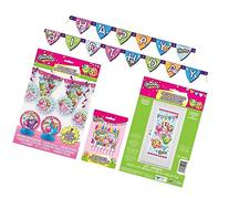 Shopkins Deluxe Birthday Party Decorating Bundle ~ Banners,