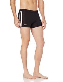 Speedo Men's Xtra Life Lycra Shoreline Square Leg Swimsuit,