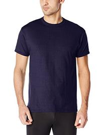 Russell Athletic Men's Short Sleeve Cotton T-Shirt, Navy, 4X