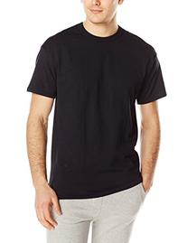 Russell Athletic Men's Short Sleeve Cotton T-Shirt, Black, X