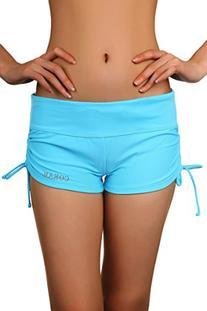 Sport Women's Boy Short Swimwear Blue