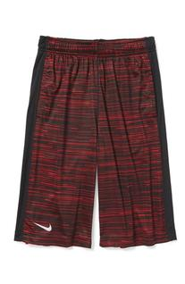 Boy's  'Fly' Shorts Gym Red/ Black X-Large