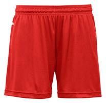 Badger Girls B-Core 4 Performance Shorts  -RED -M