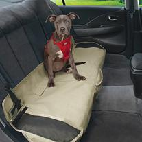 Kurgo Waterproof Shorty Car Bench Seat Cover for Dogs,