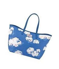 CATH KIDSTON Shoulder Bag Leather Large Cloud Blue