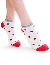 Vero Monte 6 Pairs Womens No Show Ankle Socks  3291