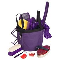 Show Time Groomers Set W/Tote Purple
