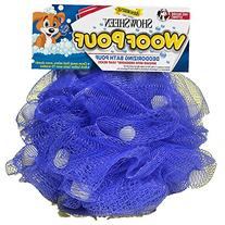 Showsheen Dog Woof Pouf Deodorizing Bath Pouf Infused with