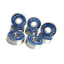 8x22x7mm SI-BU ABEC 5 Precision Skate Ball Bearings Rubber