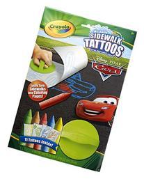 Crayola Sidewalk Tattoos Disney Cars