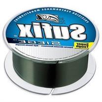 Sufix Siege 12 lb Test Fishing Line  - Smoke Green
