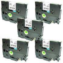 SIENOC Replacement Label Tape Compatible with Brother TZ221