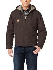 Carhartt Men's Sherpa Lined Sandstone Sierra Jacket J141,