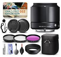 Sigma 60mm F2.8 DN Art Black Lens for Panasonic/Olympus
