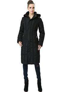 BGSD Signature Women's Felicia Hooded Long Puffer Down Coat