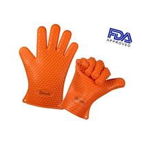 Vervetie Barbecue Gloves Heat Resistant Silicone Cooking