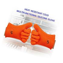 LP Silicone Heat Resistant Grilling BBQ Gloves  for Cooking