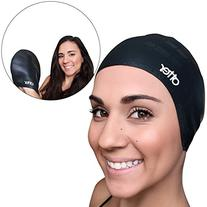 Otter Premium Silicone Adult Swim Cap for Long Hair - PLUS
