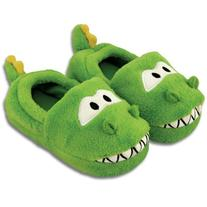 Stephen Joseph Kids' Silly Slippers , Dino