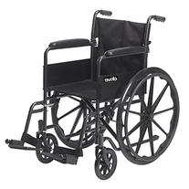 Drive Medical Silver Sport 1 Wheelchair with Full Arms and