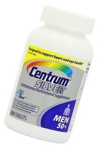 Centrum Silver Men 50+, 600 Tablets