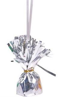 Silver Balloon Weights - Metallic Silver Balloon Weights