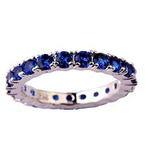 Psiroy Women's 925 Sterling Silver 0.63cttw Sapphire Quartz