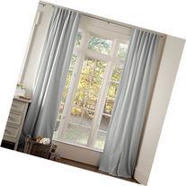 Carousel Designs Silver Gray Linen Drape Panel 64-Inch
