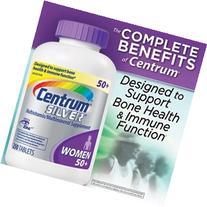 Centrum Silver Multivitamin Multimineral Supplement for