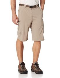 Columbia Men's Silver Ridge Cargo Short, Tusk, 30x12