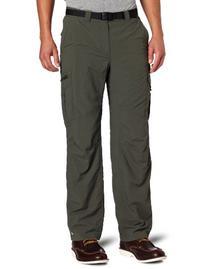 Columbia Men's Silver Ridge Cargo Pant, Gravel, 36x34-Inch