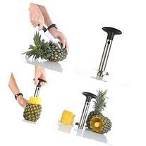 Silver Stainless Steel Pineapple De-Corer Peeler Stem