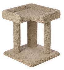 24 Inch Simple Corner Cat Perch