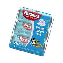 HUGGIES Simply Clean Fresh Baby Wipes, 72 sheets