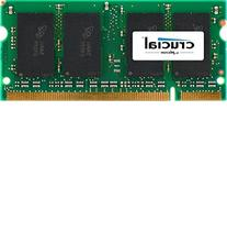 Crucial 4GB Single DDR2 667MHz  CL5 SODIMM 200-Pin Notebook
