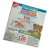 NeilMed's Sinus Rinse Pre-Mixed Pediatric Packets, 120-Count