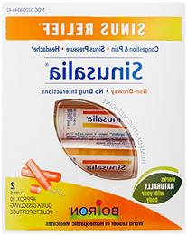 Boiron Sinusalia Sinus Pellets, 2 tubes, approx. 80 pellets