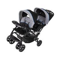 Baby Trend Sit 'N Stand Double Stroller, Millennium Blue