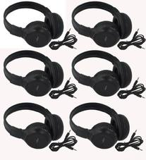 Six Pack of Two Channel Folding Adjustable Universal Rear