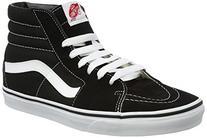 Vans Unisex SK8-Hi Sneaker Black Size 10.5 M US Women / 9 M